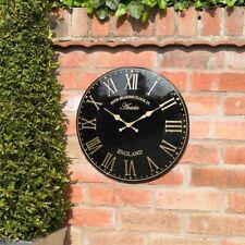 Orologi da parete nera analogici 12 ore
