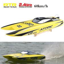 Volantex V792-4 60km/h 2.4G Brushless Water Cooling 1800KV Motor RC Boat Model#