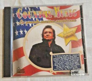 COUNTRY MUSIC LA GRANDE MUSICA AMERICANA Johnny Cash Musica CD