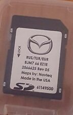 Carte SD GPS MAZDA Connect Europe-Turquie-Russie 2016/2017 (SD CARD)