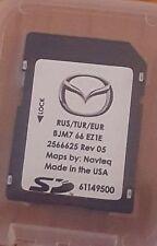 Carte SD GPS MAZDA Connect Europe-Turquie-Russie 2016/17 BJM7 66 EZ1E (SD CARD)
