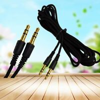 2/3/5M 3.5mm AUX AUXILIARY CORD Male to Male Stereo Audio Cable for MP3 CAR PC