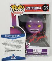 Tom Savini signed Funko Pop Horror Legend Genie Creepshow Beckett