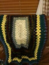 Beautiful Handmade Crochet Afghan 50 X 45