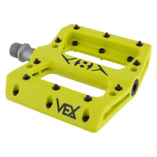 "ORIGIN8 PEDALS Vex Platform 9/16""  Sealed BMX MTB YELLOW PAIR"