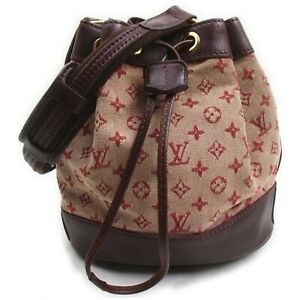 Louis Vuitton Hand Bag M92686 Noelie Bordeaux Monogram Mini lin 1602374
