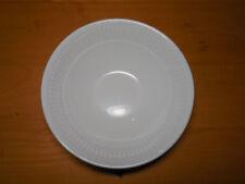 """Martha Stewart France BALUSTRADE Set of 3 Soup Cereal Bowls 6 1/2"""" White Ribbed"""