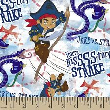 Disney Jake Neverland danger from the deep 100% cotton fabric by the yard