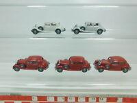 BK53-0,5# 5x Wiking H0/1:87 3260 Modell PKW Mercedes-Benz/MB 260 D, NEUW