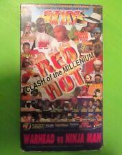RARE Reggae Dancehall VHS Video Tape - STING 2000 Red Hot - Ninjaman Jr. Kelly +
