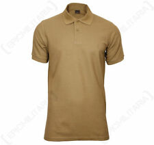 Camicie casual e maglie da uomo marrone con colletto