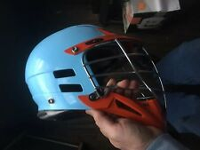 Cascade Cpx Cxc Oco Lacrosse Helmet Blue Orange