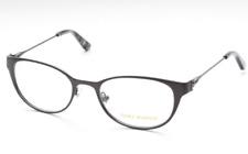 264efd777e0 Tory Burch Womens Ty1050 3162 Gunmetal Metal Oval Eyeglasses