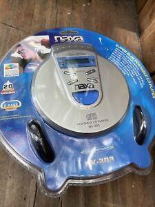 Naxa NX-303 Portable CD Player Super Slim Dynamic Bass Boost Headpho