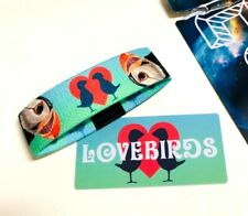 ZOX **LOVEBIRDS** Silver Strap med Wristband w/Card New Mystery Pack