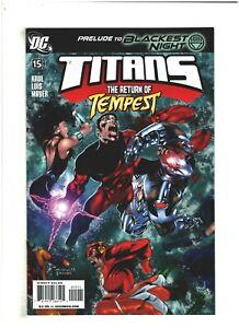 Titans #15 NM- 9.2 DC Comics 2009 Prelude to Blackest Night