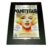 Mini Marilyn Monroe Vanity Fair Framed Art Print Display Memorabilia Man Cave
