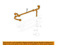 GM OEM License Lamps-Rear Lamps-Harness 15851787