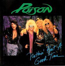 "POISON - NOTHIN' BUT A GOOD TIME  7"" 45RPM P/S VINYL SINGLE RECORD Australia NM"