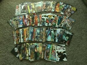 Huge 130 Mix Lot Of Comic Books  from abandoned storage unit  DC Avengers Marvel