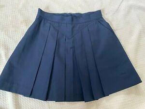 Prince Womens Athletic Skorts Skirt Shorts blue Pleated Golf Tennis SZ 4 USA