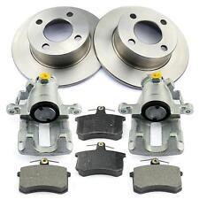2x Bremssattel + Bremsbeläge + Bremsscheiben hinten Audi 80 8C2 B4 8C5