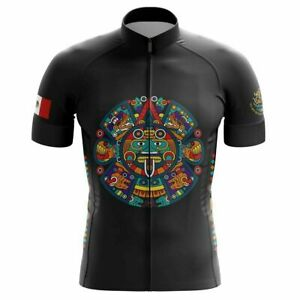 """Team Mexico """"Live Strong, Be Proud"""" Men's Cycling Jersey Short Sleeve Pro Cloth"""