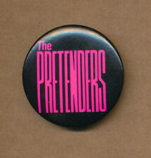 The Pretenders Learning to Crawl Rare vintage button 1984