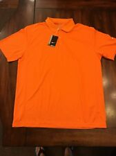 NEW NIKE GOLF Mens Small DRI FIT VICTORY GOLF POLO TOUR PERFORMANCE 509167 873