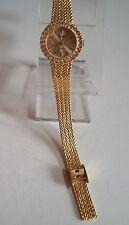 Women's Gold Finish/Rhinestone Dressy Occasional Wear bracelet fashion watch