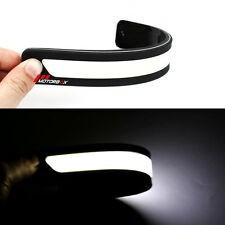 2x  DRL Car LED Daytime Running Light Flexible Driving Daylight Waterproof 12V