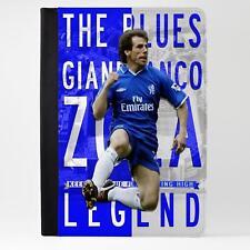 Funda Cubierta De Cuero Tablet Zola iPad fútbol Legend Regalo LG35