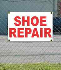 2x3 SHOE REPAIR Red & White Banner Sign NEW Discount Size & Price FREE SHIP