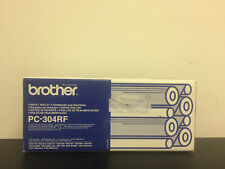 GENUINE BROTHER PC-304RF REFILL ROLLS (X4)