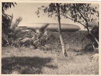 """Seltene Original Fotografie LZ 127 """"Graf Zeppelin"""" Verso bezeichnet um 1931"""
