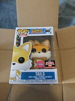 Funko Pop! Games Sonic Tails 641 Flocked Target Exclusive Target Con IN HAND