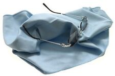 OPTILUXE POLISHING / CLEANING CLOTH FOR GLASSES  - LIGHT BLUE - 16X16