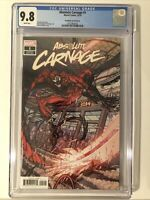 Absolute Carnage #1 CGC 9.8 Nick Bradshaw Variant Cover 1:50 Marvel Comics Knull