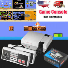 Mini Retro Game Console For NES Built-In 620 Classic Games+2 Controllers US Plug