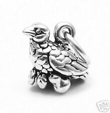 925 Sterling Silver Partridge in a Pear Tree Charm