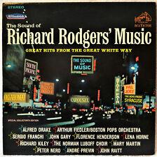 Richard Rodgers Music LP NM Vinyl Florence Henderson Lena Horne Sergio Franchi