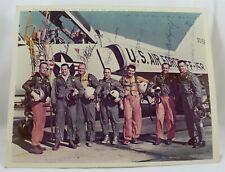 "Mercury Seven Astronauts 1959 8"" X 10"" Photo 7 Signatures"