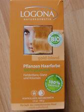 °LOGONA°Naturkosmetik°Pflanzen Haarfarbe°Gold Blond°100 g°Bio Vegan Henna°NEU°