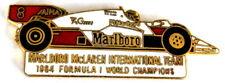 "AUTO PIN/PINS-McLaren"" 1984 formula 1 World Champions"""
