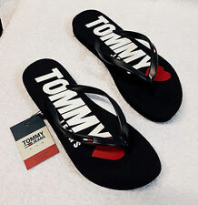 Tommy Hilfiger Damen Schuhe Zehentrenner Sandalen LOVE TJ SANDAL 316 NAVY 41
