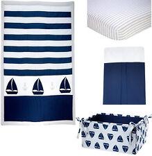 Nautica Kids Mix & Match Baby boy  Crib Bedding set  4 Piece - Navy Whale