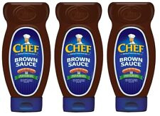 Chef Brown Sauce Squeezy 485g X 24