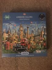 gibsons 1000 piece jigsaw puzzles used London Calling