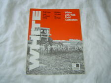 White 285 485 field cultivator brochure