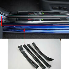 For Nissan Altima Teana 19-2020 Black Stainless Outside door sill strip Trim 4Pc